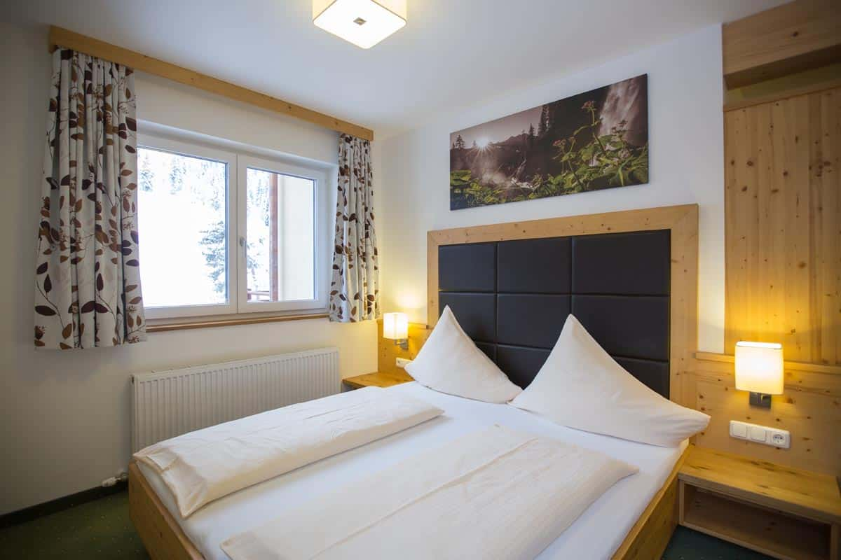 At the Hotel Ennskraxblick in Kleinarl you will find comfortable beds and modern equipment.